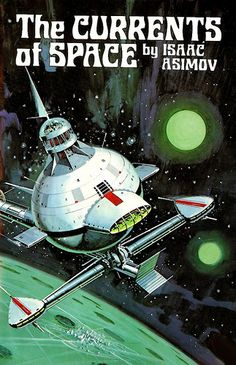 the currents of space cover art Ed Valigursky