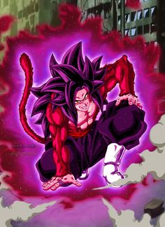 Goku Black SSJ4 by Majingokuable