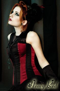 INFERNAL CABARET STEEL BONED CORSET $95 This will be my present to myself when I lose weight.