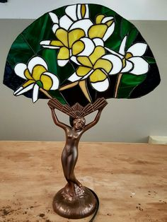 Flower Fan lamp