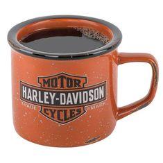 Harley-Davidson Trademark Bar & Shield Logo Campfire Mug - 14 oz. Harley Davidson Photos, Harley Davidson Iron 883, Harley Davidson Street Glide, Harley Davidson Motorcycles, Harley Davidson Online Store, Harley Davidson Merchandise, Shield Logo, Trademark Logo, Bike Photo