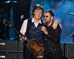 His decades-long bromance with fellow Beatle Ringo Starr is #FriendshipGoals defined. | 19 Reasons Why Paul McCartney Is Still The Epitome Of Cool