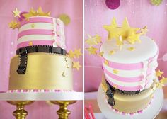 Pink Hollywood Glam Party with Lots of Really Cute Ideas via Kara's Party Ideas   KarasPartyIdeas.com #GirlyParty #HollywoodGlamParty #Party...