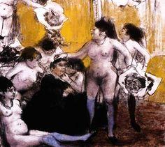 Degas - LA FETE DE LA PATRONNE, 1878-79
