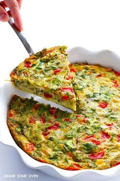 dat is … frittata A quiche without dough; that is … frittata Brunch Recipes, Breakfast Recipes, Breakfast And Brunch, Breakfast Quiche, Vegan Breakfast Casserole, Vegetarian Recipes, Cooking Recipes, Frittata Recipes, Oven Baked Frittata