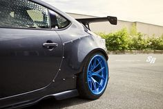 Scion FR-S on Electric Blue PUR Wheels