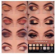 Makeup Eye Looks, Eye Makeup Steps, Simple Eye Makeup, Smokey Eye Makeup, Eyeshadow Looks, Eyeshadow Makeup, Eyeshadows, Morphe Eyeshadow, Neutral Eyeshadow