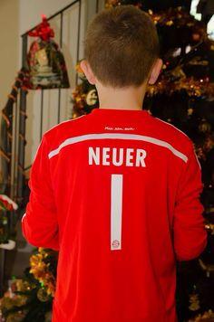 Il suo idolo... Manuel Neuef
