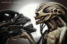 The Genetic queen and the alien newborn