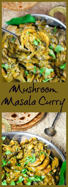 Mushroom Masala Curry and The Health Benefits of Eating Mushrooms