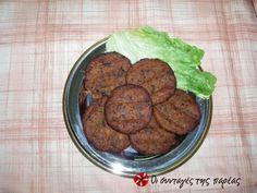 Νόστιμα μπιφτέκια λαχανικών, διαφορετικά απο τ'άλλα, που πλάθονται εύκολα και είναι λάιτ.