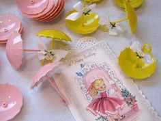 Vintage Party Favors