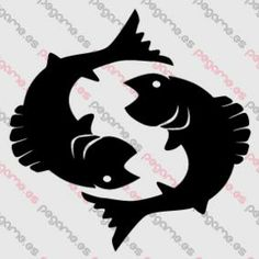 Pegame.es Online Decals Shop  #fish #water #swim #horoscope #zodiacal #pisces #vinyl #sticker #pegatina #vinilo #stencil #decal