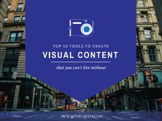 10 Visual Content Creation Tools You Can't Live without [#VisualInbound]