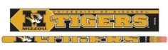 Missouri Tigers Pencil 6 Pack