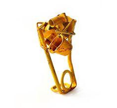 Ring: Untitled 2010  Brass, acrylic paint  Fabrizio Tridenti