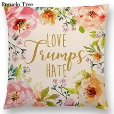 Love Leaf Decorative Letters Floral Be Kind Fearless Love Cushion Home Decor Sofa Throw Pillow Perfect for decorating your room in a simple and fashion way. Suitable for living room, bedroom, sofa, couch, bed, car, seat, floor, bench, office, cafe, etc. A very easy way to decorate an entire room without much work with this trendy and clean-looking pillow covers set. Girl Boss Products and Merchandise | Buy Now | Free shipping on all orders