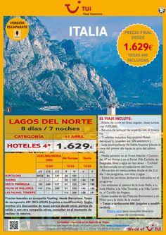 ITALIA: Lagos del Norte ¡Salida 12 de Abril! Precio final desde 1.629€ ultimo minuto - http://zocotours.com/italia-lagos-del-norte-salida-12-de-abril-precio-final-desde-1-629e-ultimo-minuto-2/
