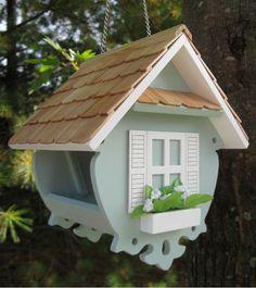 Creare le casette per gli uccellini con il fai da te