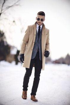 12 Stylish Coats For Men, mens style — @StyledSet