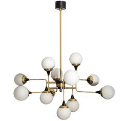 Italian Chandelier   From a unique collection of antique and modern chandeliers and pendants  at http://www.1stdibs.com/furniture/lighting/chandeliers-pendant-lights/