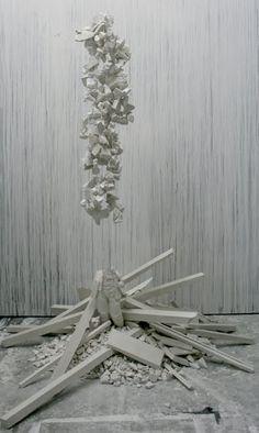 Art Peeps: Simon Bilodeau Peeps, Sculpture, Art, Mirrors, Art Background, Kunst, Gcse Art, Sculpting, Statue