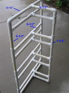 PVC Bike rack instructions
