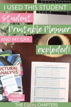 This student printable planner will help you organize everything in your life and help you reach your life goals. College Planner, School Planner, Student Planner, Life Planner, College Schedule, School Schedule, Weekly Planner, College Hacks, College Fun