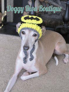 b2c194fba07 Items similar to Dog Hat - Batman Dog Hat - Super Hero s Dog Hat for Cat or  Dog Custom Made on Etsy