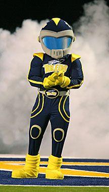 Toledo Rockets mascot