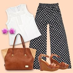 Look perfecto #Fashion #iNStyle #polkadots
