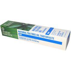 Desert Essence, Natural Tea Tree Oil Toothpaste, Mint