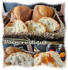 「オーバーナイト法で仕込むリュスティック」kako | お菓子・パンのレシピや作り方【corecle*コレクル】