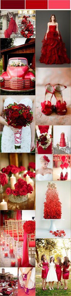 red wedding ideas