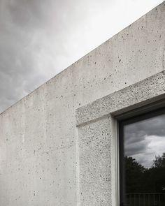 Schweizer Schalung - Wohnhaus aus Dämmbeton von HDPF