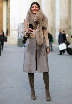 Giovanna Battaglia-The Maker, The Model, The Muse Giovanna Battaglia, Winter Looks, Fur Fashion, Womens Fashion, Fashion Trends, Street Fashion, Latest Fashion, Fashion Outfits, Stylish Winter Outfits
