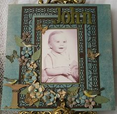 Layout created using Cheery Lynn Design dies.
