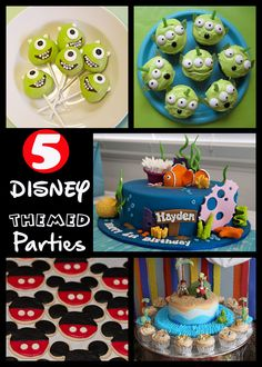 Disney themed Parties