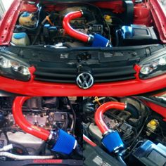 Cold Air Intake VW Golf 1.6  #lethalperformancearg  #simotaracing Golf 1, Vw, Sims, Racing, Cold, Autos, Running, Mantle, Lace