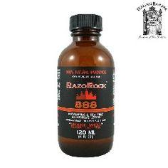 RazoRock 888 Eucalyptus And Tea Tree Aftershave Lotion Splash
