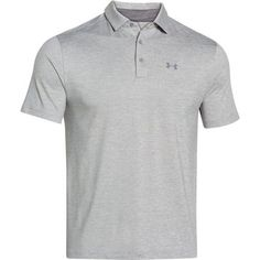 Under Armour Men's Playoff Polo - Gray Heather