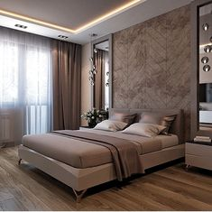 Up in Arms About Luxury Interior Ideas Bedroom Decor Inspirations? Get the Scoop on Luxury Interior Ideas Bedroom Decor Inspirations Before You're Too Late - homeuntold Hotel Bedroom Decor, Grey Bedroom Decor, Modern Master Bedroom, Stylish Bedroom, Master Bedroom Design, Minimalist Bedroom, Contemporary Bedroom, Bedroom Colors, Home Bedroom