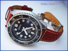 Seiko Marine Master - I know it makes little sense, but I love a leather strap on a diver
