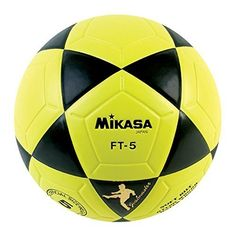 40a8cf642 Mikasa Goal Master, Size 5, Yellow/Black. Soft built and nylon wound