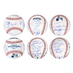 Autographed 1986 New York Mets Fanatics Authentic Team Signed Baseball with 26 Signatures Auction Items, New York Mets, Major League, Baseball, Sports, Hs Sports, Sport, Exercise