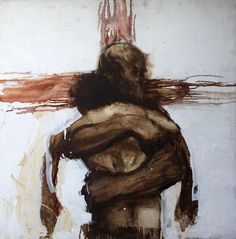 """British artist Charlie Mackesy says that the story of the prodigal son is most central to him """"It is subversive and flies in the face of… Jesus Christ Painting, Jesus Art, Christian Artwork, Christian Images, Charlie Mackesy, Crucifixion Of Jesus, Prodigal Son, Prophetic Art, Jesus Pictures"""