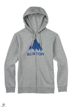 Bluza Zip Burton Classic Mountain Snowboarding Outfit, Full Zip Hoodie, Hoodies, Grey, Classic, Model, Sweaters, Clothes, Mountain