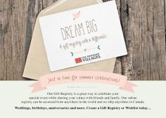 Getting married this year? Want to create your dream wish list? Ten Thousand Villages has a Fair Trade gift registry just for you! #wedding #registry