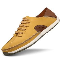 Find More Loafers Information about Fashion Zapatilla Plana Hombre Casual Mens Shoes Leather Moccasins Chaussure Homme Luxe Loafers Size 38 to 44 Blue Khaki Yellow,High Quality Loafers from shoesmansway on Aliexpress.com