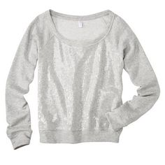 Someone buy me this... or maybe I should buy it myself... it is only $15...  Sequin sweatshirt